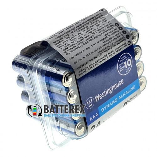 Батарейки AAA Westinghouse Dynamo Alkaline LR03 1.5V - экономичная упаковка 24 шт.