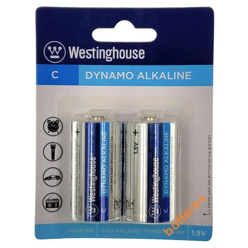 Батарейки C LR14 Westinghouse Dynamo Alkaline 1.5V - 2 шт. в блистере