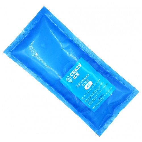 CrazyIce IcePack 400мл - аккумулятор холода для термосумок и термобоксов