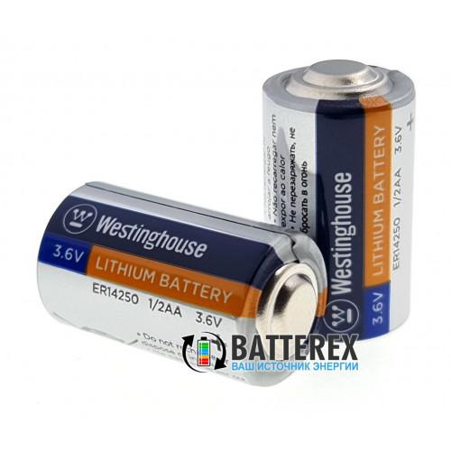 Батарейка литиевая 1/2AA ER14250 Westinghouse 3.6V