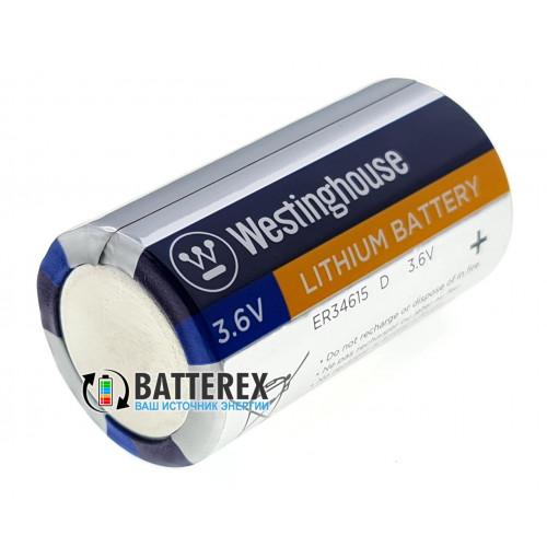 Батарейка литиевая D ER34615 Westinghouse 3.6V LiSOCl2