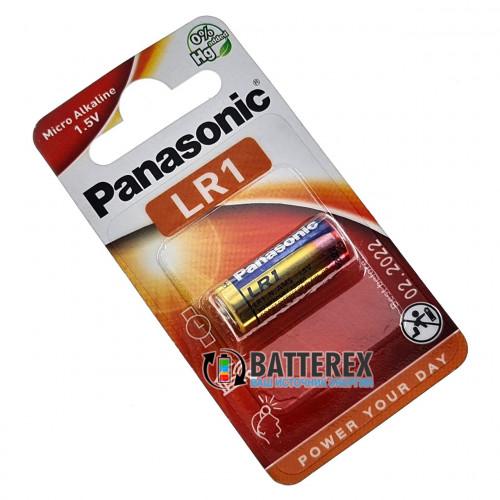 Батарейка LR1 Panasonic Cell Power 1.5V Micro Alkaline (R1, E90, AM5, 910A, MN9100, N, 4901)