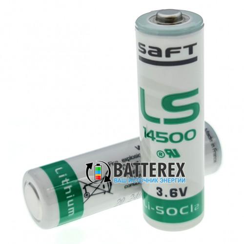 Батарейка литиевая SAFT LS 14500 AA STD 3,6V LiSOCl2 Made in France