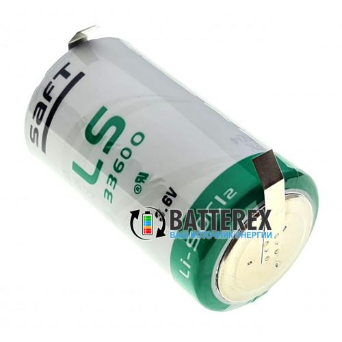 Батарейка литиевая SAFT LS 33600 D STD 3,6V LiSOCl2 под пайку