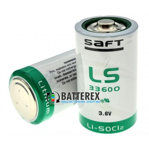 Батарейка литиевая SAFT LS 33600 D STD 3,6V LiSOCl2 Made in France