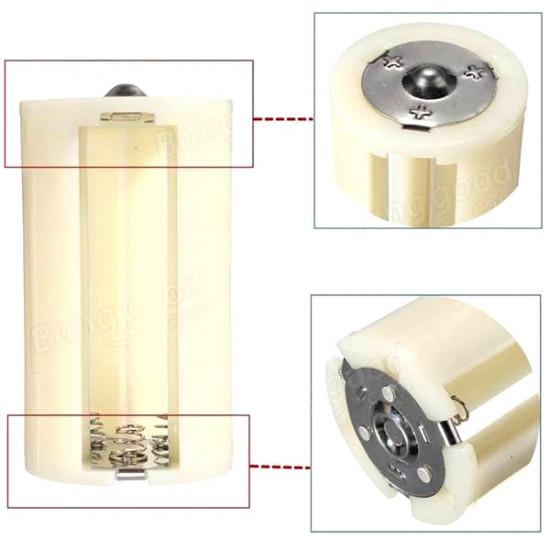 Переходник для аккумуляторов с 3 шт. АА на D (R20)