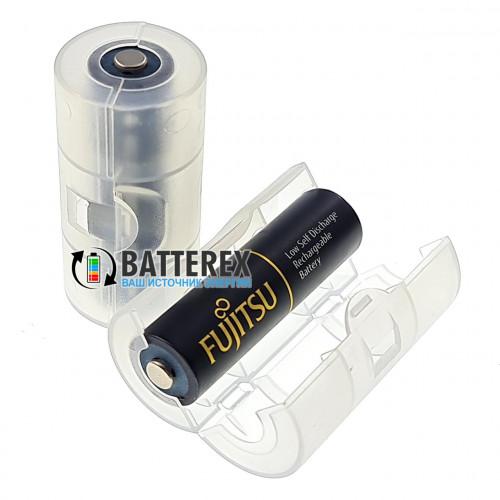 Переходник Soshine АА - C (R14) для аккумуляторов и батареек