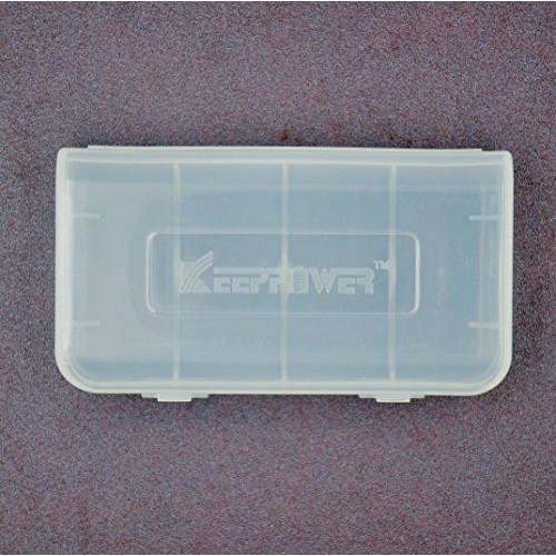 Пластиковый бокс Keeppower на 2 аккумулятора 18650 или 4 аккумулятора 16340 (CR123a)