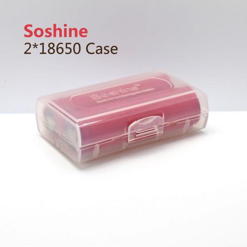 Бокс Soshine на 2 аккумулятора 18650 или 4 аккумулятора 16340