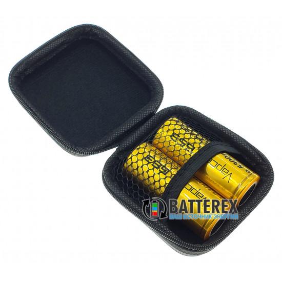 LiitoKala Lii-500 интеллектуальное зарядное устройство + чехол Vapcell для аккумуляторов 18650/26650 в подарок