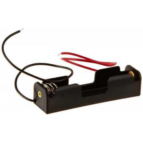Батарейный отсек на 1 аккумулятор 18650 с пружинами и проводами