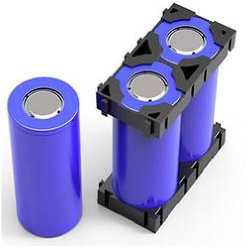 Пластиковый холдер наборной 2х 18650 для сборки аккумуляторов
