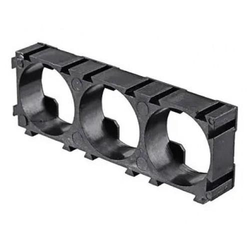 Пластиковый холдер наборной 3х 18650 для сборки аккумуляторов
