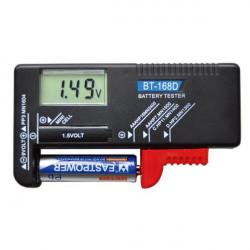Тестеры для аккумуляторов и батареек