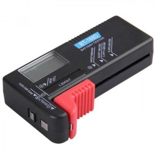 Универсальный тестер батареек и аккумуляторов BT-168D (цифровой)