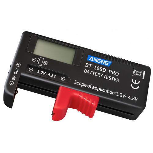 Цифровой универсальный тестер батареек и аккумуляторов BT-168D-Pro (поддержка Li-ion)