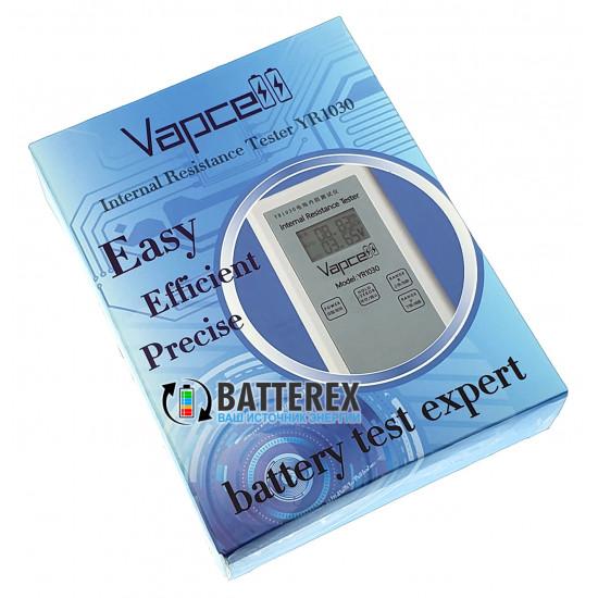 Тестер Vapcell YR1030 внутреннего сопротивления и напряжения аккумуляторов