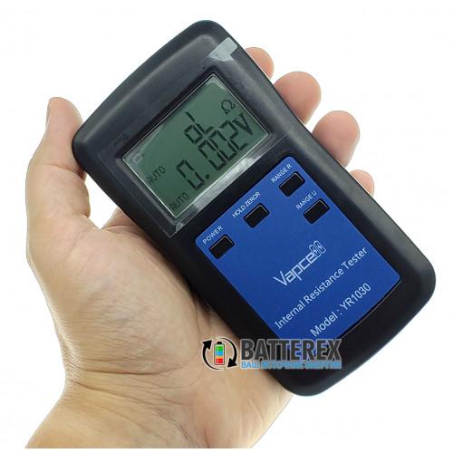 Vapcell YR1030 - тестер внутреннего сопротивления и напряжения аккумуляторов