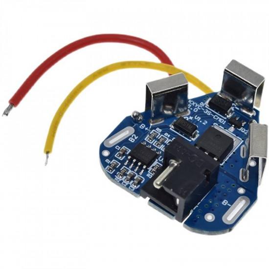 BMS плата защиты 3S KXYC-3S-CM01 8/40A 11.1-12.6V для 3х аккумуляторов 18650