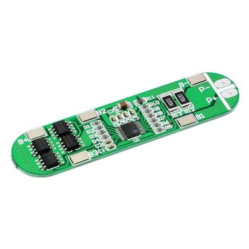 BMS плата защиты 4S 6A 14.8-16.8V (HX-4S-A01) для 4х аккумуляторов 18650