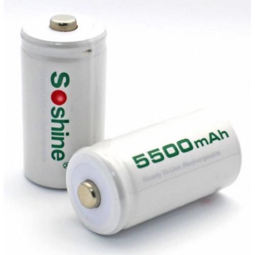 Аккумулятор C R14 Soshine 5500 mah Ready to use