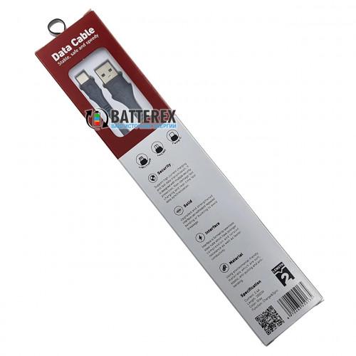 Кабель EMY MY-742 USB AM - Type-C 2м для быстрой зарядки и передачи данных