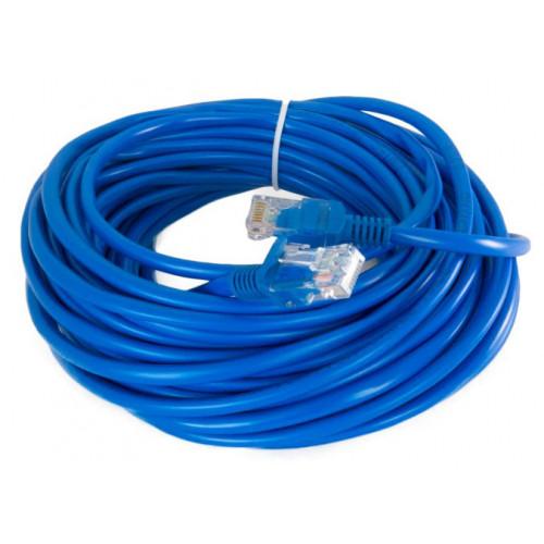 Патч-корд литой UTP 5e 12 м Extradigital (синий)
