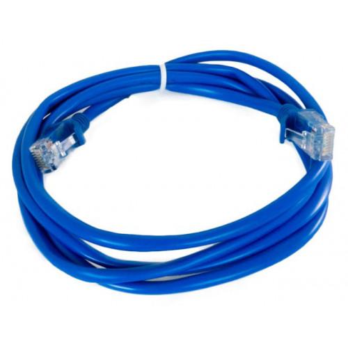 Патч-корд литой UTP 5e 1.6 м Extradigital (синий)