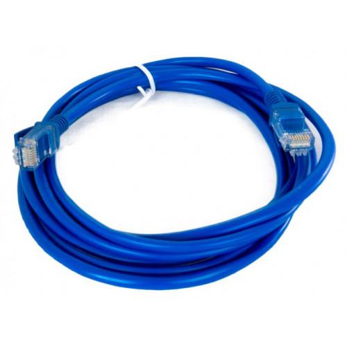 Патч-корд литой UTP 5e 4 м Extradigital (синий)