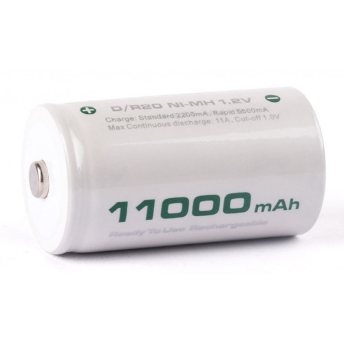 Аккумулятор D R20 Soshine 11000 mah Ready to use