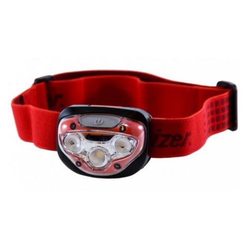 Фонарь налобный Energizer Vision Headlamp 300 lumens Red (3 AAA, 4 режима, до 35 часов) - оригинал