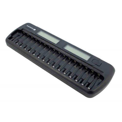 EverActive NC-1600 - зарядное устройство на 16 аккумуляторов АА/ААА с функцией разряда + автоадаптер