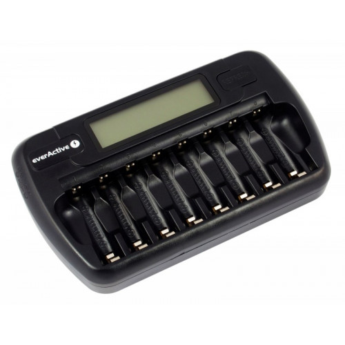 EverActive NC-800 - зарядное устройство на 8 аккумуляторов АА и ААА