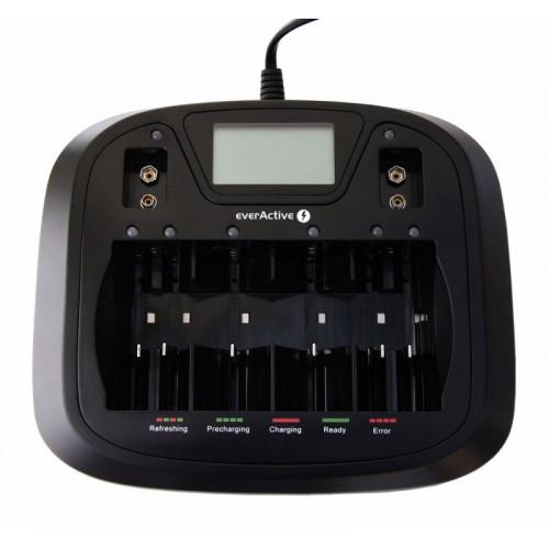 EverActive NC-900U - зарядное устройство для аккумуляторов AA/AAA/C/D/Крона