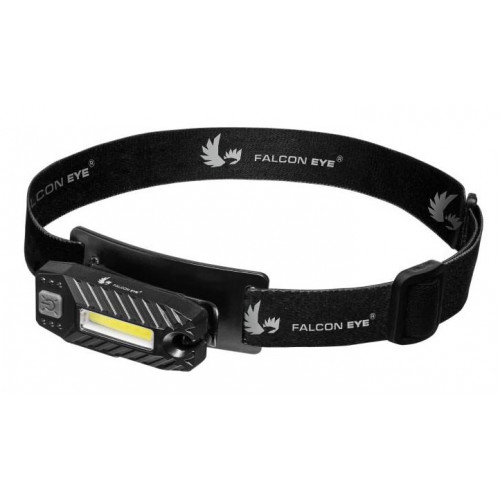 Falcon Eye Blaze 2.2 FHL0023 - налобный USB фонарь со встроенной батареей и клипсой для крепления на одежду