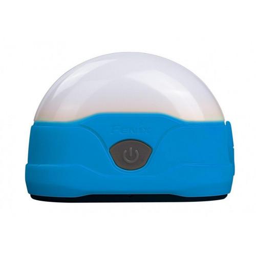 Фонарь кемпинговый Fenix CL20R синий - 300 люмен, встроенный аккумулятор, 6 режимов, зарядка от USB