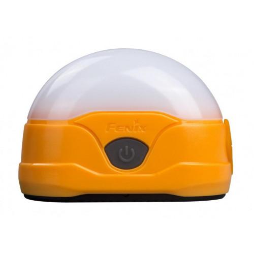 Фонарь кемпинговый Fenix CL20R оранжевый - 300 люмен, встроенный аккумулятор, 6 режимов, зарядка от USB