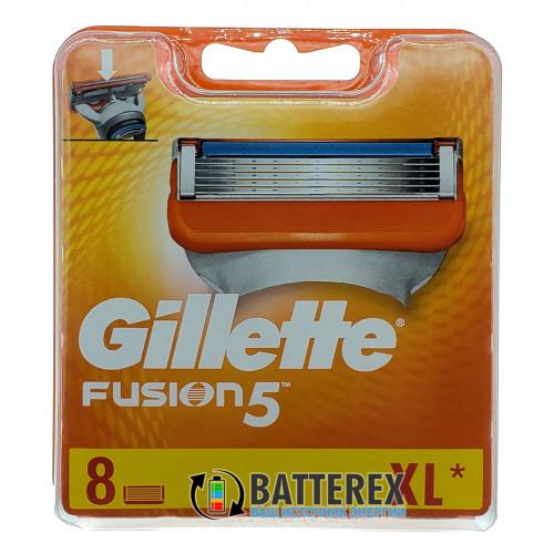 Gillette Fusion5 - 8 лезвий в упаковке - оригинал