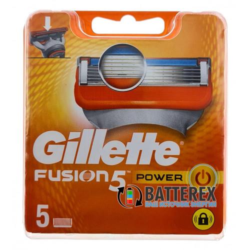 Gillette Fusion Power - 5 лезвий в упаковке - оригинал