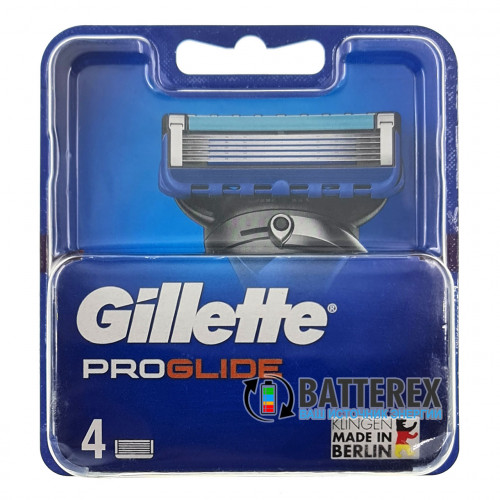 Gillette Fusion Proglide - 4 лезвия в упаковке - оригинал Германия