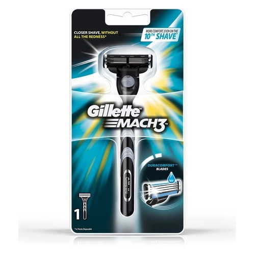 Станок Gillette Mach3 + 1 лезвие - оригинал