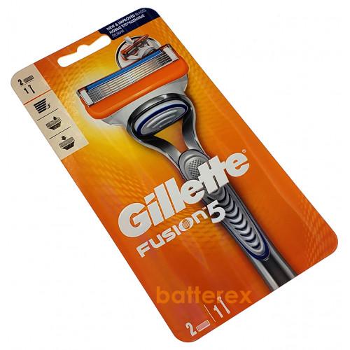 Станок Gillette Fusion 5 + 2 лезвия - оригинал