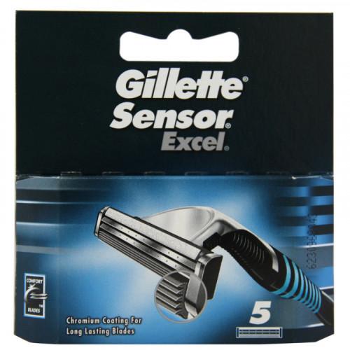 Gillette Sensor Excel - 5 лезвий в упаковке - оригинал
