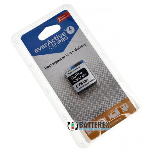 Аккумулятор для камеры GoPro Hero 5/6/7/8 (AJBAT-001) EverActive CamPRO 1250mah EVB026