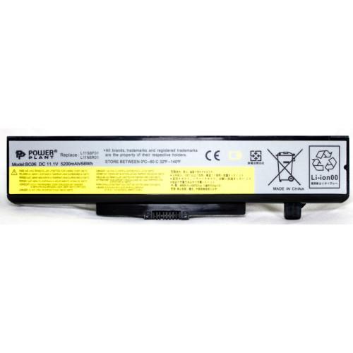 Аккумулятор для ноутбуков IBM/LENOVO IdeaPad G580 (L11L6F01) 11.1V 5200mAh