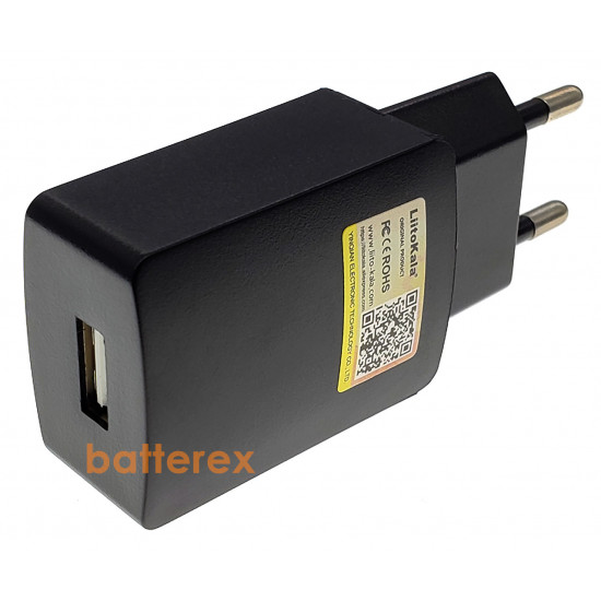 USB зарядное устройство (сетевой адаптер) Liitokala 5V 2A