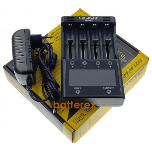 LiitoKala Lii-500S - интеллектуальное зарядное устройство для AA/AAA/Li-ion с разрядом, тестом и сенсорным управлением - оригинал, гарантия 12 месяцев