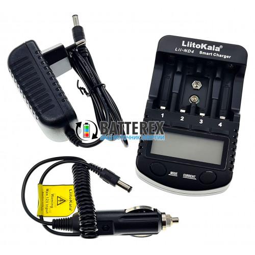 LiitoKala Lii-ND4 - интеллектуальное зарядное устройство для аккумуляторов АА, ААА, Крона