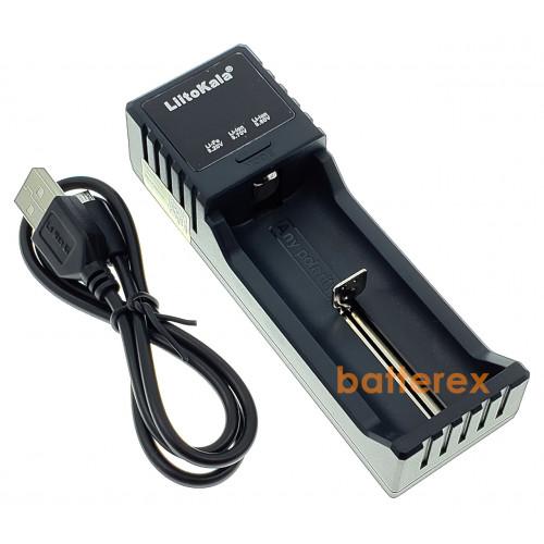 LiitoKala Lii-S1 - зарядное устройство на 1 аккумулятор Ni-MH/Li-ion/LiFePO4 c дисплеем и выбором тока заряда 0,5A/1A