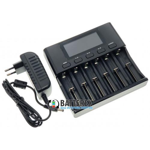 LiitoKala Lii-S6 - 6-канальное зарядное устройство для аккумуляторов Li-ion/LiFePO4/Ni-MH